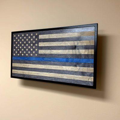 Blue Line Service Flag